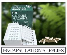 Capsule Machine and Empty Vegetarian Capsules